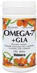 Omega-7 + gla wiesiołek i rokitnik x 60 kapsułek