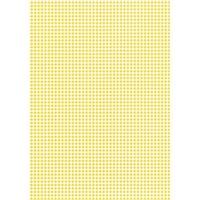 Karton w kratkę - żółty - żół