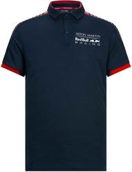 Koszulka polo aston martin red bull racing granatowa - granatowy