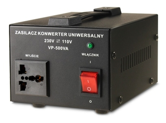 Transformator 230v110v 500va - szybka dostawa lub możliwość odbioru w 39 miastach