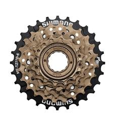 Wolnobieg shimano mf tz-500 6-rzędowy 14-28t brązowy