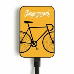 SMARTOOOLS Powerbank MC5 Bike-Yellow, 5000mAh, 2.1A 5V