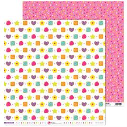 Słodki papier do rękodzieła 30x30 cm Mis Chuches - 09