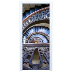 Fototapeta na drzwi schody kręte 712a
