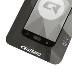 Qoltec Hartowane szkło ochronne Premium do Samsung Galaxy S7 | pełne    | czarne