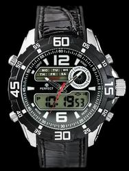Zegarek meski PERFECT A837 - black zp177a