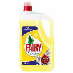 Fairy, Lemon, płyn do mycia naczyń, 5 l