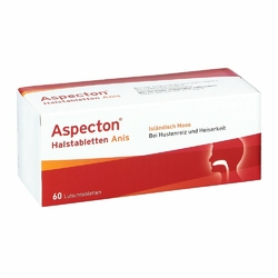Aspecton tabletki na gardło do ssania