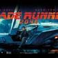 Blade runner 2049 flying car - plakat z filmu
