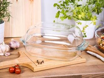 Naczynie do zapiekania żaroodporne z pokrywą altom design vega owalne 5,7 l