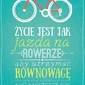 Rower - plakat