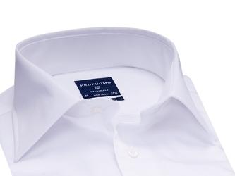 Elegancka biała koszula męska normal fit, 38