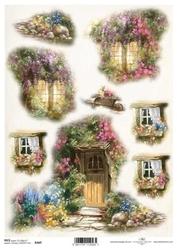 Papier ryżowy ITD A4 R460 drzwi okna