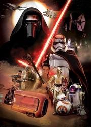 Star wars the force awakens obsada - plakat