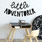 Naklejka na ścianę - little adventurer , wymiary naklejki - szer. 200cm x wys. 100cm