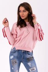 Bluza -pudrowy róż 46027-3