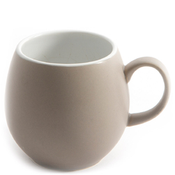 Kubek ceramiczny do herbaty 0,2 Litra Pebble London Pottery beżowy LP-17281107