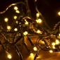 Lampki świąteczne 40 led - ciepły biały