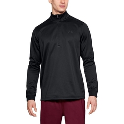 Bluza męska ua armour fleece 12 zip - czarny