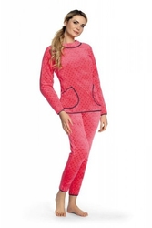 Piżama damska de lafense 376 melanie