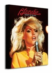 Blondie Heart of Glass - Obraz na płótnie
