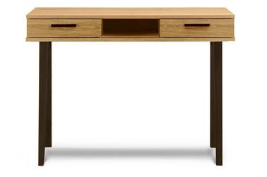 Skandynawskie biurko frisk 100x48 cm z nogami antracyt