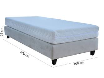 Baza do łóżka 100 cm tapicerowana