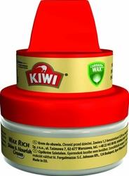 Kiwi, bezbarwny, krem do pielęgnacji obuwia, 50 ml