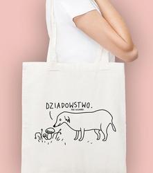 Dziadostwo torba na zakupy naturalna universal