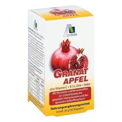 Granat 500 mg + witamina c, b12 + cynk + selen kapsułki