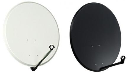 Czasza antena satelitarna 80 cm standard biała - szybka dostawa lub możliwość odbioru w 39 miastach