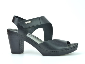 Sandały lemar 50009 bf.czarny