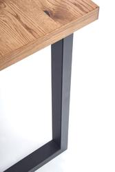 Nowoczesny stół horus z fornirowanym blatem