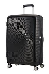 Walizka american tourister soundbox 77 cm powiększana - black