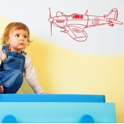 szablon malarski samolot 12