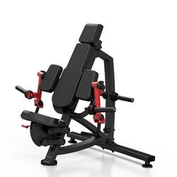 Maszyna na wolny ciężar na mięśnie dwugłowe ramion mf-u008 - marbo sport - czarny  antracyt metalic
