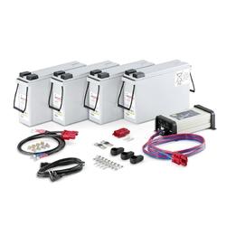 Battery quick-charge set v 24v164ah i autoryzowany dealer i profesjonalny serwis i odbiór osobisty warszawa