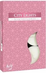 Bispol, City Lights, podgrzewacze zapachowe, 6 sztuk