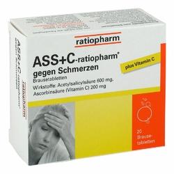 ASS + wit. C Ratiopharm tabletki przeciwbólowe
