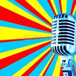 Naklejka samoprzylepna disco mic-3