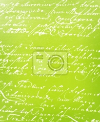 Fototapeta rocznika pismo odręczne