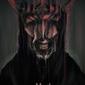 Władca pierścieni usta saurona - plakat premium wymiar do wyboru: 30x45 cm