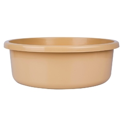 Miska na pranie  łazienkowa plastikowa bentom classic beżowa 20 l