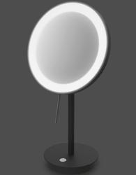 Lustro kosmetyczne z podświetleniem led alona zack czarne 40142