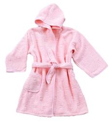 Szlafrok dziecięcy  greno różowy 8 lat