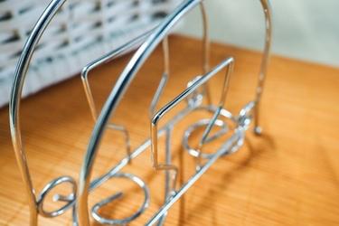 Serwetnik metalowy 15.5 x 13 x 4.5 cm