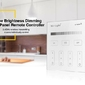 Milight - 4-zone brightness dimming smart panel remote controller - t1