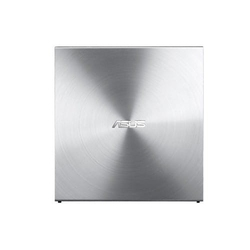 Asus nagrywarka zewnętrzna sdrw-08u5s-u slim dvd usb srebrna