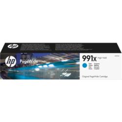 Oryginalny błękitny wkład atramentowy HP 991X PageWide o dużej pojemności