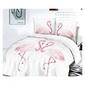 Pościel flamingo 160 x 200 cm